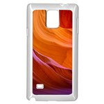 ANTELOPE CANYON 2 Samsung Galaxy Note 4 Case (White) Front
