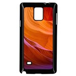 ANTELOPE CANYON 2 Samsung Galaxy Note 4 Case (Black) Front