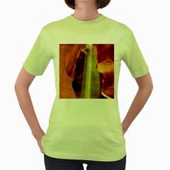 Antelope Canyon 1 Women s Green T Shirt