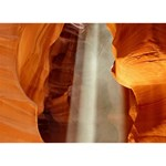 ANTELOPE CANYON 1 Peace Sign 3D Greeting Card (7x5)  Front