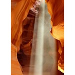 ANTELOPE CANYON 1 Peace Sign 3D Greeting Card (7x5)  Inside