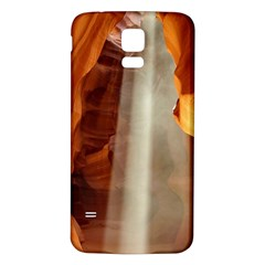 Antelope Canyon 1 Samsung Galaxy S5 Back Case (white)
