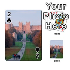 Windsor Castle Playing Cards 54 Designs