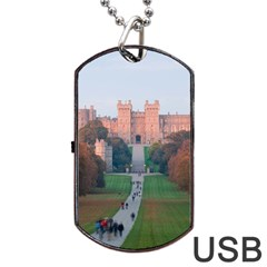 Windsor Castle Dog Tag Usb Flash (one Side)