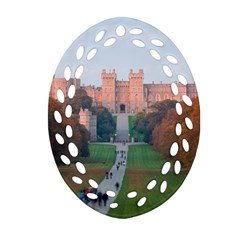 Windsor Castle Ornament (oval Filigree)