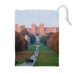 WINDSOR CASTLE Drawstring Pouches (Extra Large)