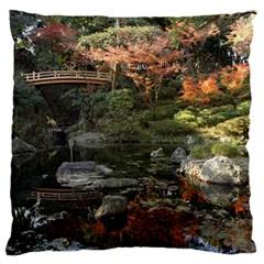 Wakayama Garden Standard Flano Cushion Cases (two Sides)