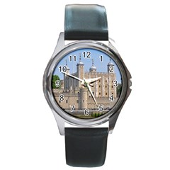 TOWER OF LONDON 2 Round Metal Watches