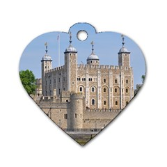 TOWER OF LONDON 2 Dog Tag Heart (One Side)