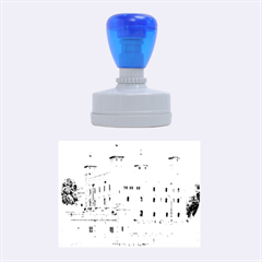 TOWER OF LONDON 2 Rubber Oval Stamps