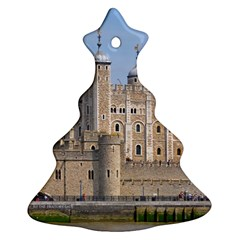 Tower Of London 2 Christmas Tree Ornament (2 Sides)