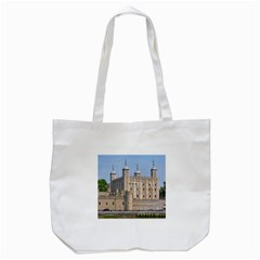 Tower Of London 2 Tote Bag (white)