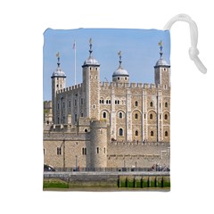 Tower Of London 2 Drawstring Pouches (extra Large)