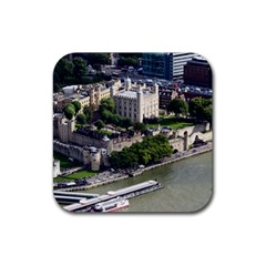 TOWER OF LONDON 1 Rubber Coaster (Square)