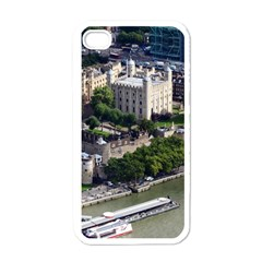 TOWER OF LONDON 1 Apple iPhone 4 Case (White)