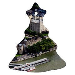 Tower Of London 1 Christmas Tree Ornament (2 Sides)