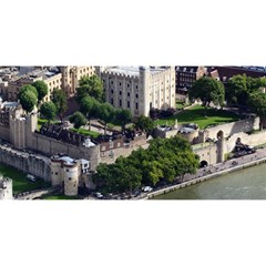 TOWER OF LONDON 1 YOU ARE INVITED 3D Greeting Card (8x4)