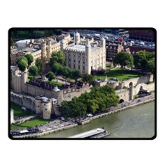 Tower Of London 1 Double Sided Fleece Blanket (small)
