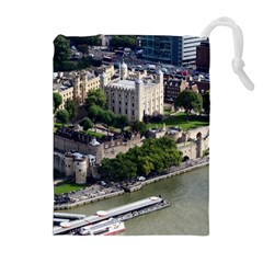 TOWER OF LONDON 1 Drawstring Pouches (Extra Large)
