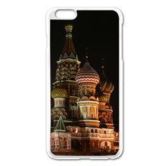 St Basil s Cathedral Apple Iphone 6 Plus/6s Plus Enamel White Case