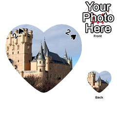 Segovia Castle Playing Cards 54 (heart)