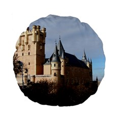 Segovia Castle Standard 15  Premium Flano Round Cushions