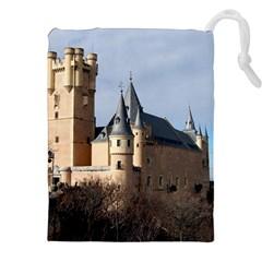 Segovia Castle Drawstring Pouches (xxl)