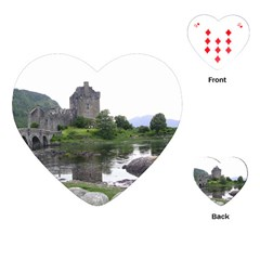 Scotland Eilean Donan Playing Cards (heart)