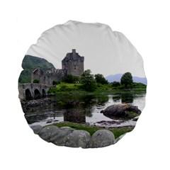 Scotland Eilean Donan Standard 15  Premium Flano Round Cushions