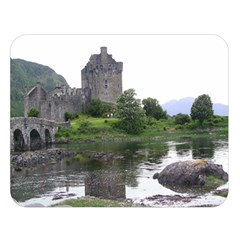 Scotland Eilean Donan Double Sided Flano Blanket (large)