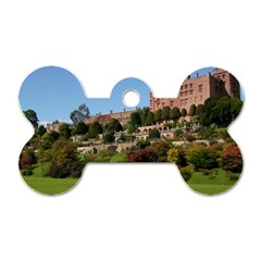 POWIS CASTLE TERRACES Dog Tag Bone (Two Sides)
