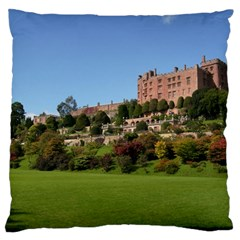 Powis Castle Terraces Standard Flano Cushion Cases (two Sides)