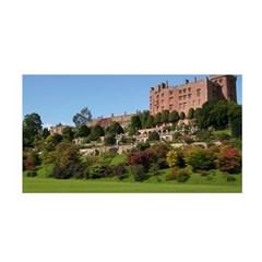 Powis Castle Terraces Satin Wrap