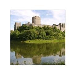 Pembroke Castle Small Satin Scarf (square)