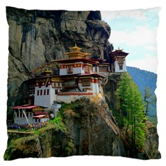 Paro Taktsang Standard Flano Cushion Cases (two Sides)