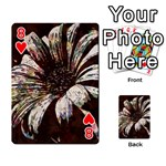 Art Studio 6216c Playing Cards 54 Designs  Front - Heart8