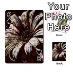 Art Studio 6216c Playing Cards 54 Designs  Front - Spade8