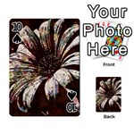 Art Studio 6216c Playing Cards 54 Designs  Front - Spade10