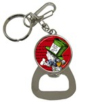 The Mad Hatter Bottle Opener Key Chains Front