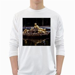 PALACE OF VERSAILLES 3 White Long Sleeve T-Shirts