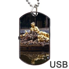 PALACE OF VERSAILLES 3 Dog Tag USB Flash (One Side)