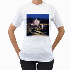 Palace Of Versailles 2 Women s T Shirt (white) (two Sided)