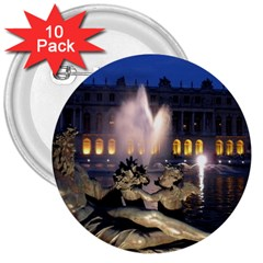 PALACE OF VERSAILLES 2 3  Buttons (10 pack)