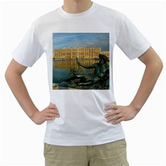 PALACE OF VERSAILLES 1 Men s T-Shirt (White) (Two Sided)