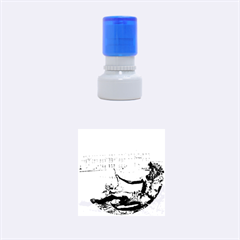PALACE OF VERSAILLES 1 Rubber Round Stamps (Small)