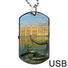 Palace Of Versailles 1 Dog Tag Usb Flash (two Sides)