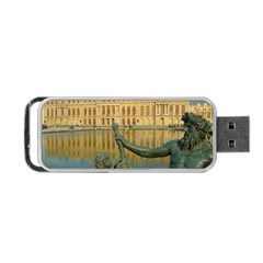 Palace Of Versailles 1 Portable Usb Flash (one Side)