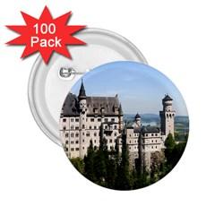 NEUSCHWANSTEIN CASTLE 2 2.25  Buttons (100 pack)