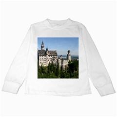 NEUSCHWANSTEIN CASTLE 2 Kids Long Sleeve T-Shirts