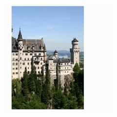 Neuschwanstein Castle 2 Large Garden Flag (two Sides)